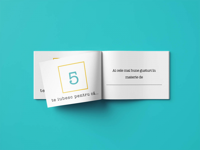 Carte cadou Iubit 50 Motive pentru care te iubesc 1