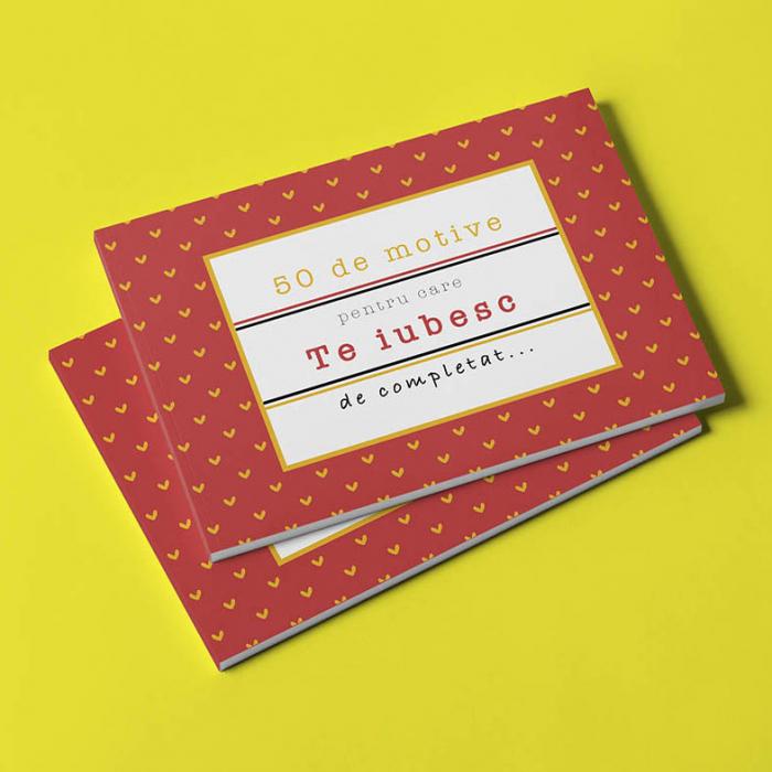 Carte cadou Iubita 50 Motive pentru care te iubesc 0