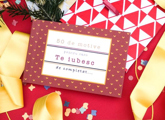 Carte cadou Iubita 50 Motive pentru care te iubesc 1