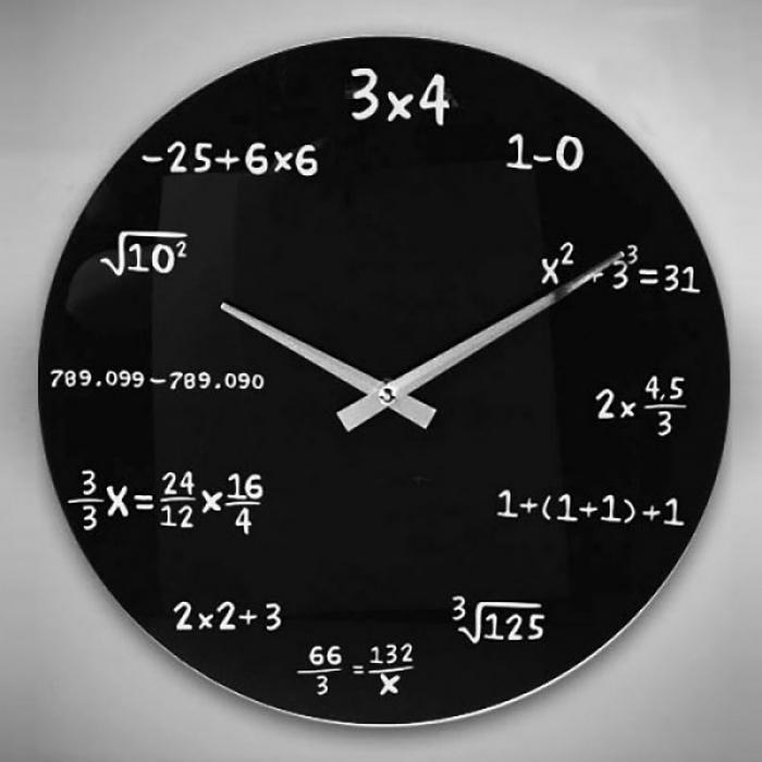 Ceas matematica de perete 0