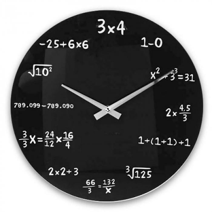 Ceas matematica de perete 1