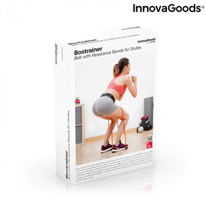 Centura cu benzi de rezistenta pentru fitness, ghid exercitii fizice 6