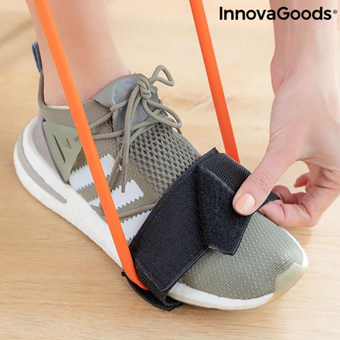 Centura cu benzi de rezistenta pentru fitness, ghid exercitii fizice 2