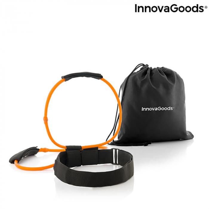 Centura cu benzi de rezistenta pentru fitness, ghid exercitii fizice 5