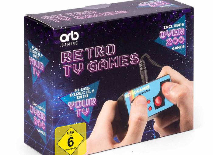 Consola de jocuri vintage, ultra-portabila 9