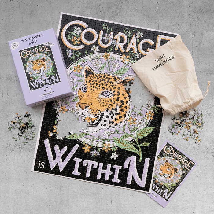 Courage is Within, Puzzle Editie Artistica, 500 piese 1