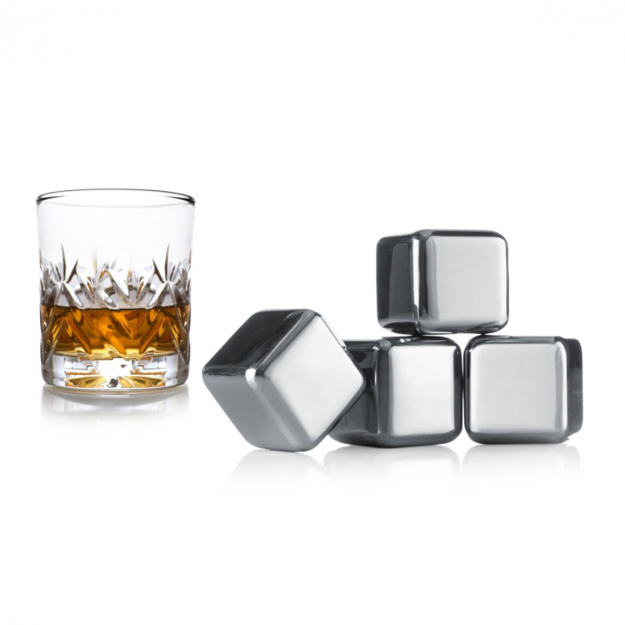 Cuburi din otel pentru whiskey 3
