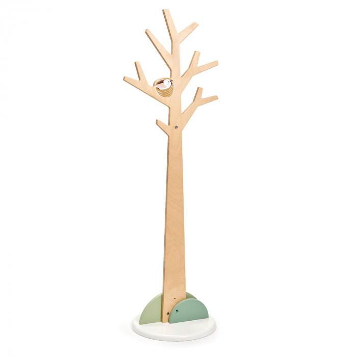 Cuier haine dormitor copii, lemn premium, Copacul din Padure 2