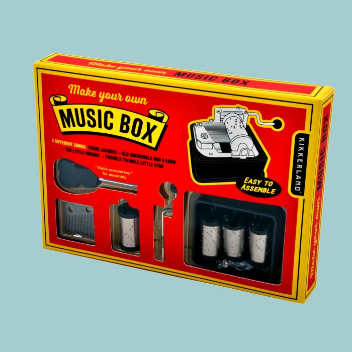 Cutiuta muzicala DIY cu 4 melodii [0]
