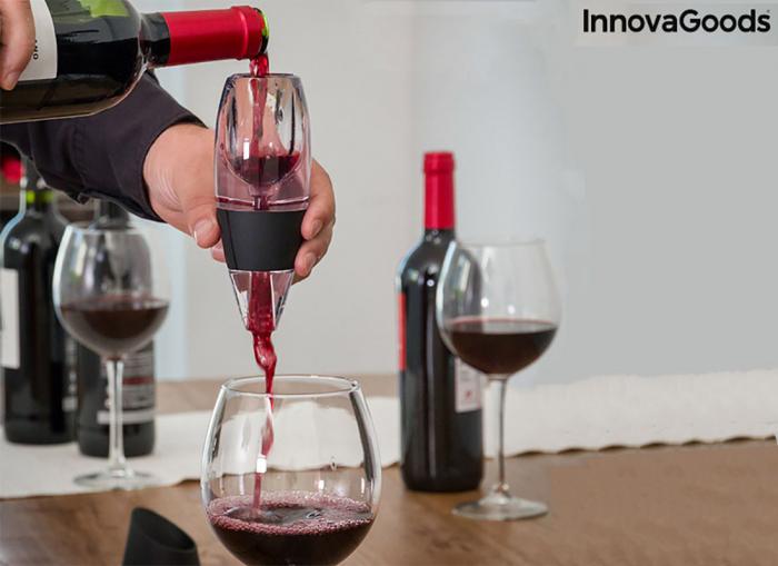 Decantor vin pentru gusturi rafinate 0