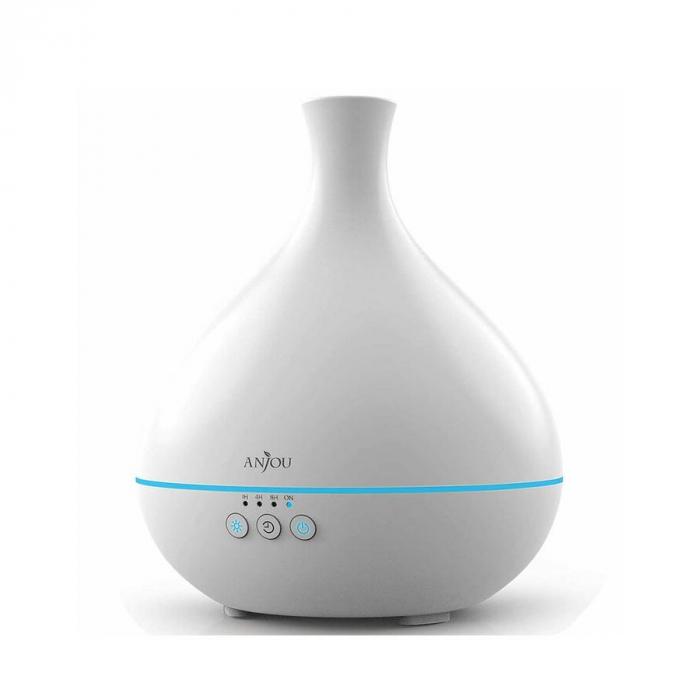 Difuzor aromaterapie uleiuri esentiale Anjou AJ-AD012, 500ml, LED, 7 culori 5