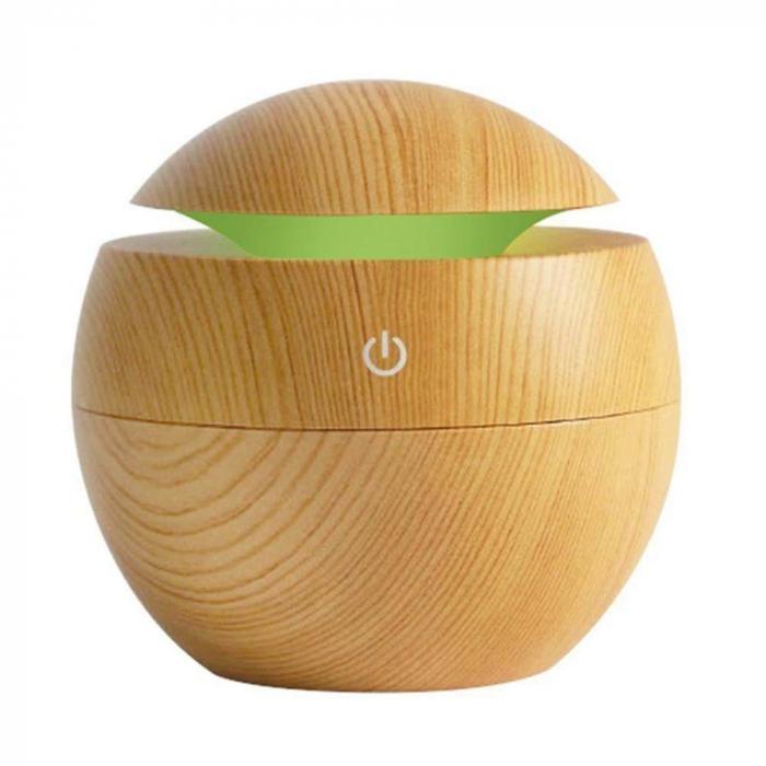 Difuzor Aromaterapie uleiuri esentiale sfera 7 culori, 130 ml 5