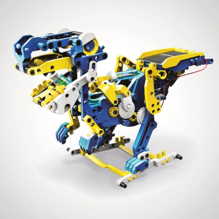 Dinozaur alimentat cu energie solara 12 in 1 [0]