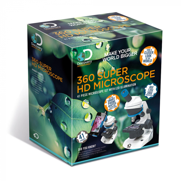 Discovery 360 Microscop Super HD, cu iluminare LED 3