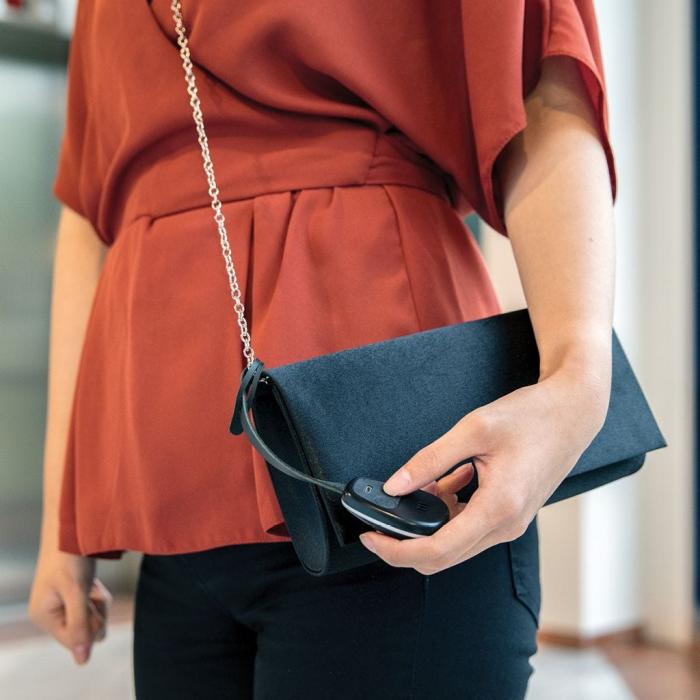 Dispozitiv alarma si localizare pentru poseta, Elle Protective Bag Charm 3