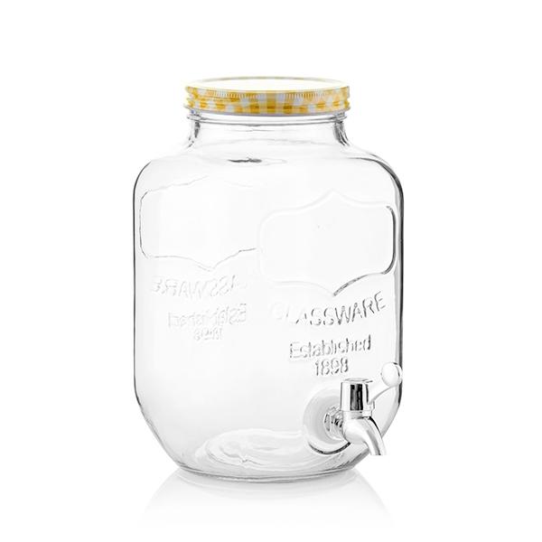 Dozator bauturi sticla retro 3