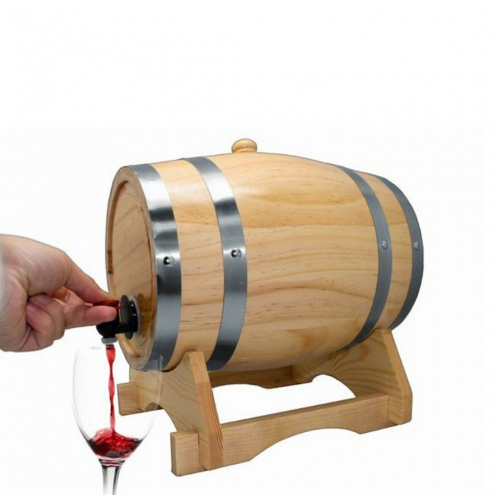 Dozator vin Butoi 5 litri 1