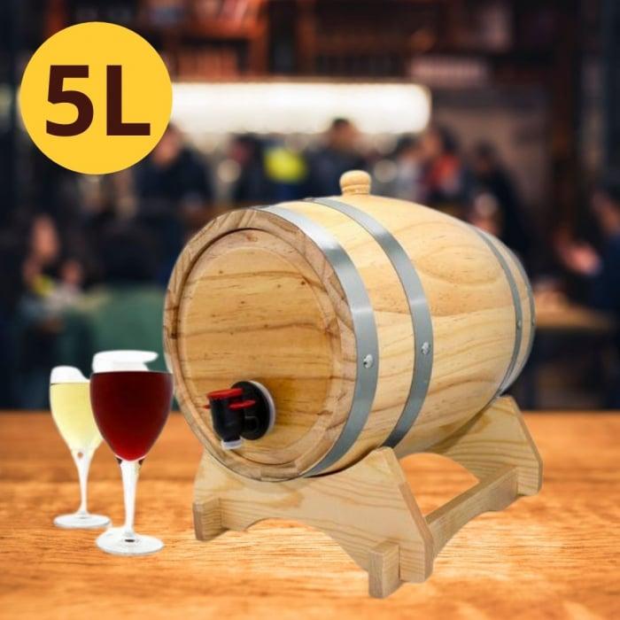Dozator vin Butoi 5 litri 0