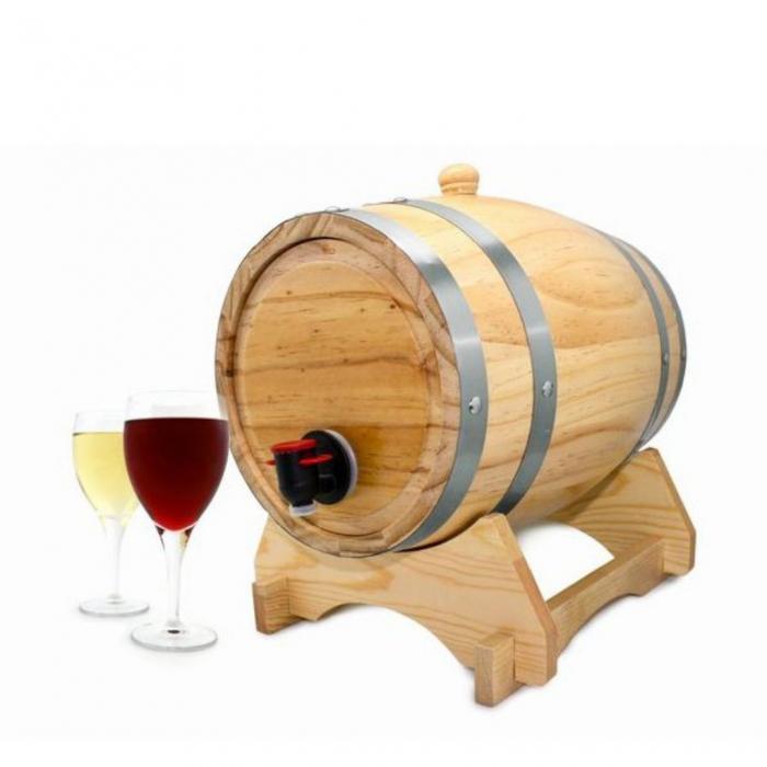 Dozator vin Butoi 5 litri 2