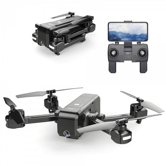 Drona Active Track pliabila, Smart GPS Return Home, 4K camera cu transmisie live pe smartphone 5