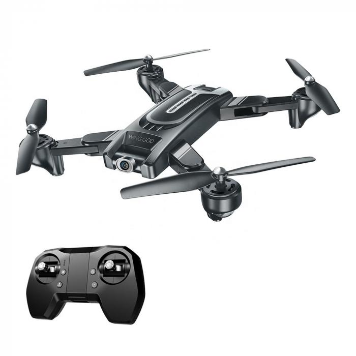 Drona Smart Visuo cu gps, Follow-Me, camera 4K cu transmisie live pe smartphone 4