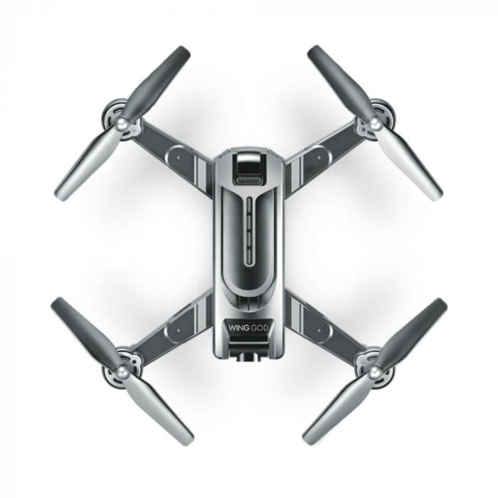 Drona Smart Visuo cu gps, Follow-Me, camera 4K cu transmisie live pe smartphone 3