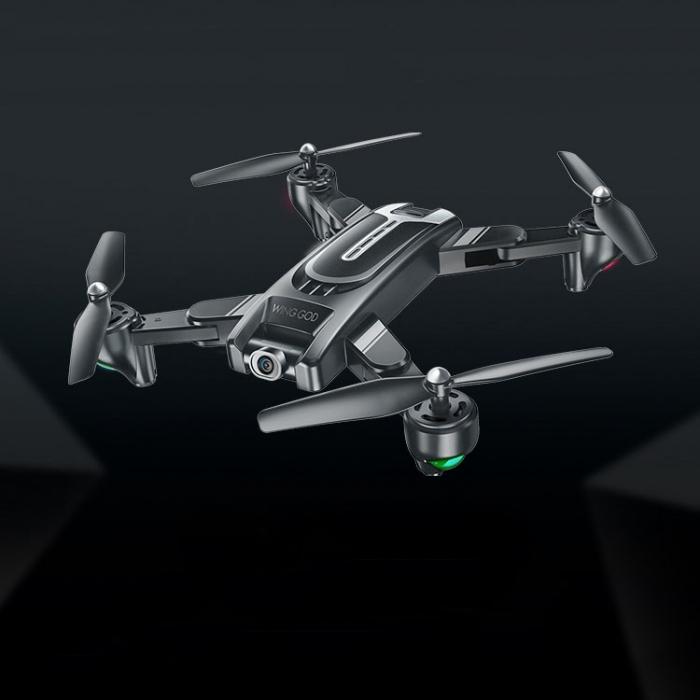 Drona Smart Visuo cu gps, Follow-Me, camera 4K cu transmisie live pe smartphone 0
