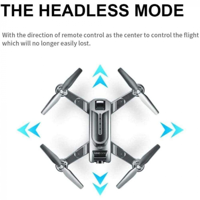 Drona Smart Visuo cu gps, Follow-Me, camera 4K cu transmisie live pe smartphone 7