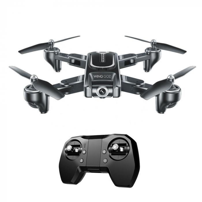Drona Smart Visuo cu gps, Follow-Me, camera 4K cu transmisie live pe smartphone 5