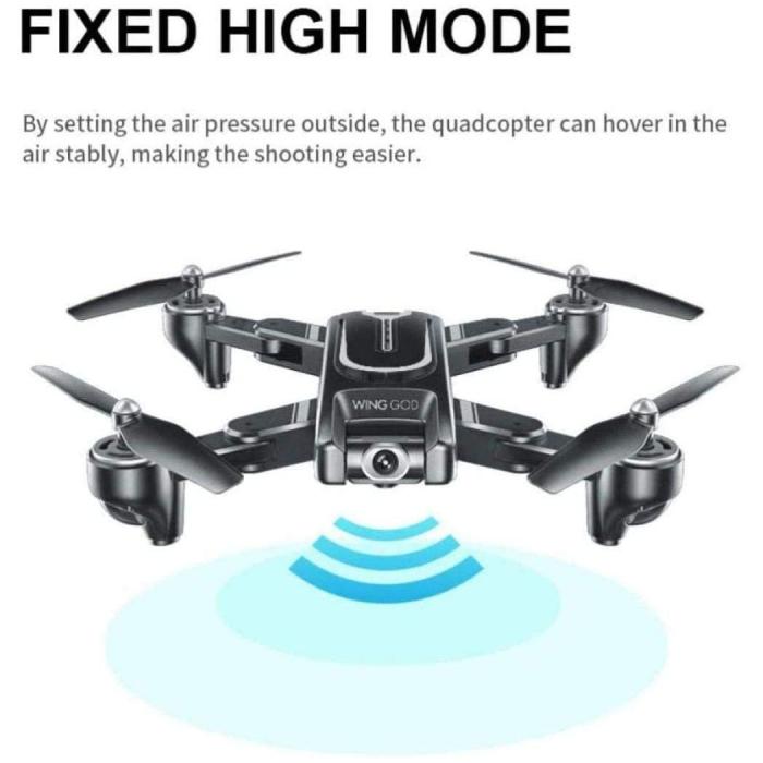 Drona Smart Visuo cu gps, Follow-Me, camera 4K cu transmisie live pe smartphone 8