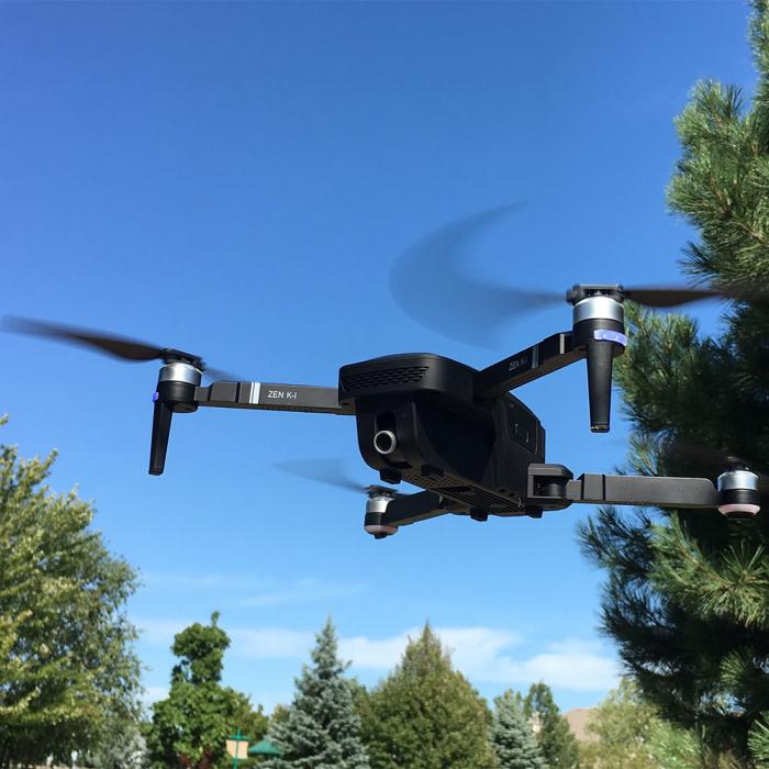 Drona ZEN Visuo ZEN cu motorizare Brushless, camera 4K cu transmisie live pe smartphone 0