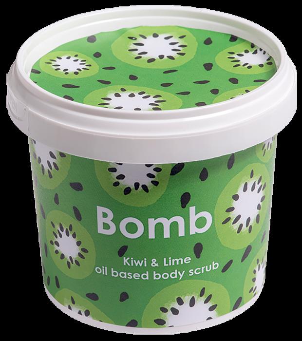 Exfoliant corp Kiwi & Lime Bomb Cosmetics 3