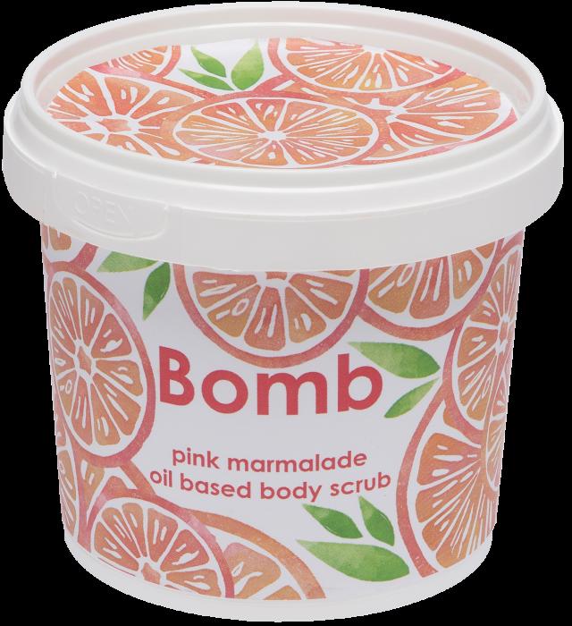 Exfoliant corp Pink Marmalade Bomb Cosmetics 3