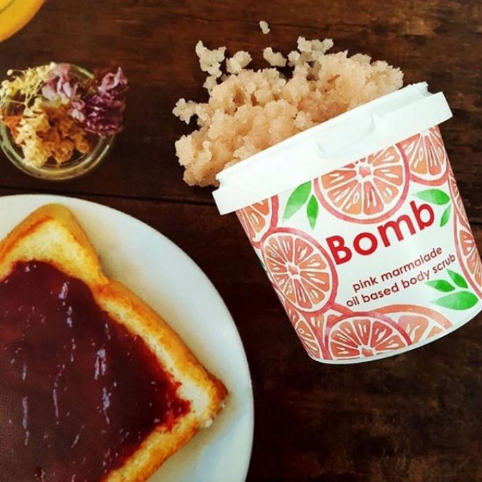 Exfoliant corp Pink Marmalade Bomb Cosmetics 2