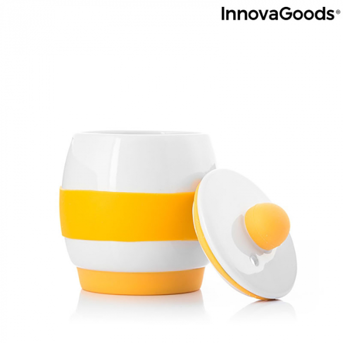 Fierbator oua la microunde, din ceramica, retete incluse 4