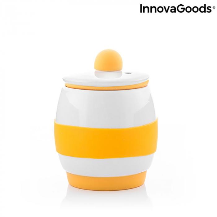 Fierbator oua la microunde, din ceramica, retete incluse 5