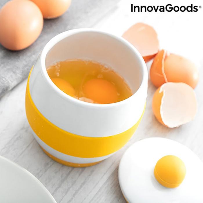 Fierbator oua la microunde, din ceramica, retete incluse 2