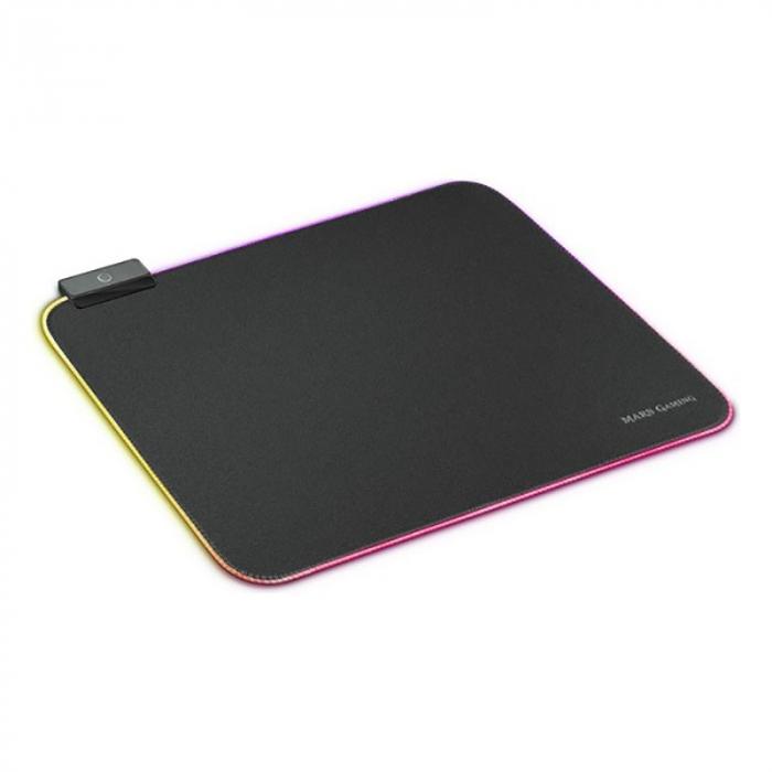Gaming pad cu iluminare RGB LED, alimentare USB 0