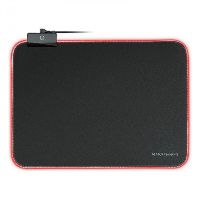 Gaming pad cu iluminare RGB LED, alimentare USB 9