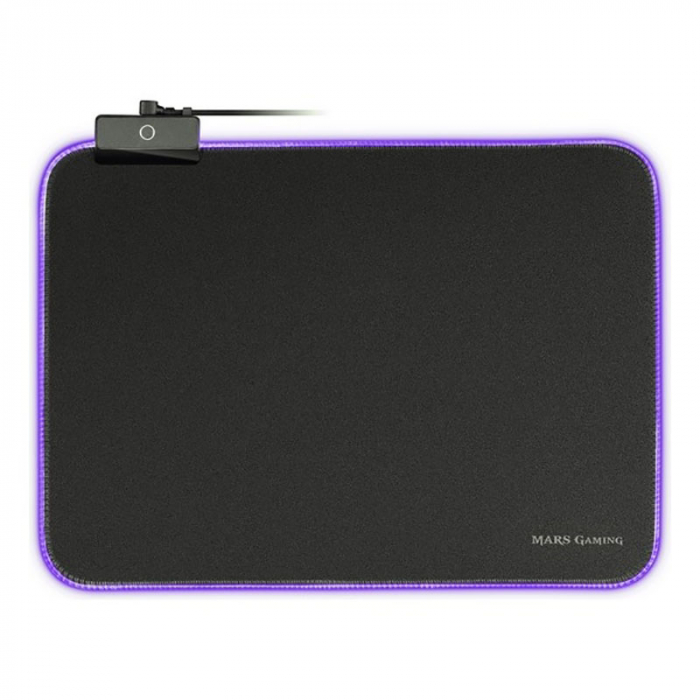 Gaming pad cu iluminare RGB LED, alimentare USB 2