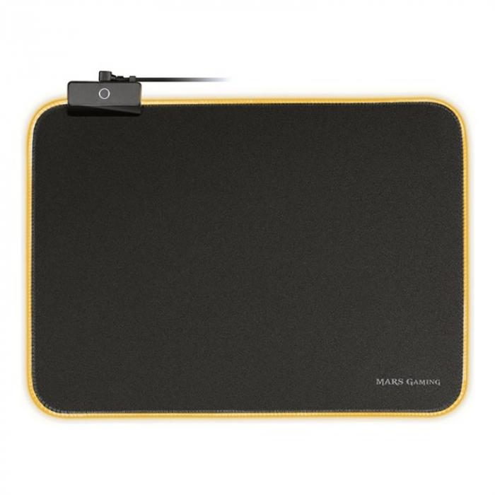 Gaming pad cu iluminare RGB LED, alimentare USB 3
