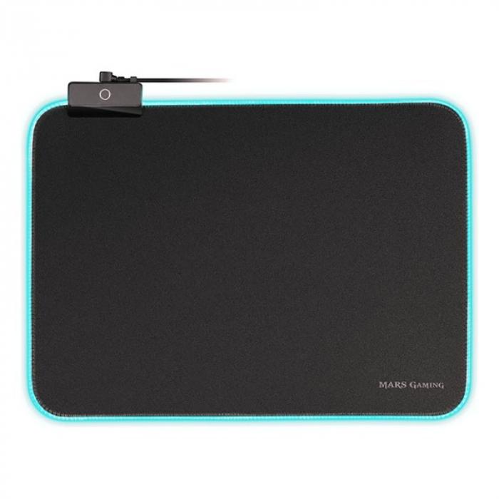 Gaming pad cu iluminare RGB LED, alimentare USB 4