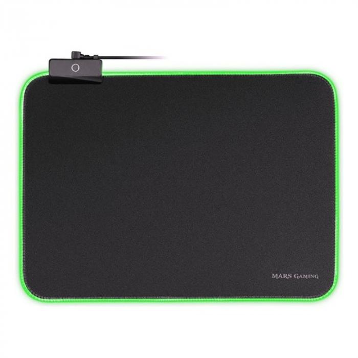 Gaming pad cu iluminare RGB LED, alimentare USB 5