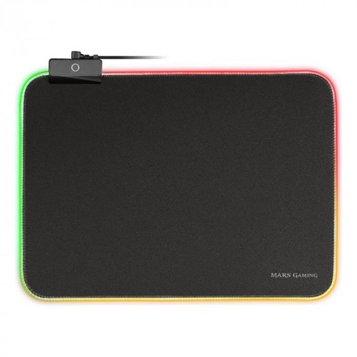 Gaming pad cu iluminare RGB LED, alimentare USB 7
