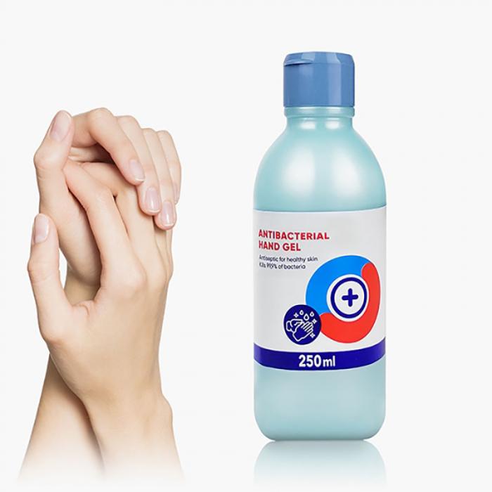 Gel antibacterian pentru dezinfectant maini, 250 ml [0]