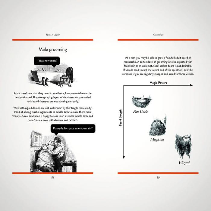 Ghid de viata ilustrat How to adult [6]