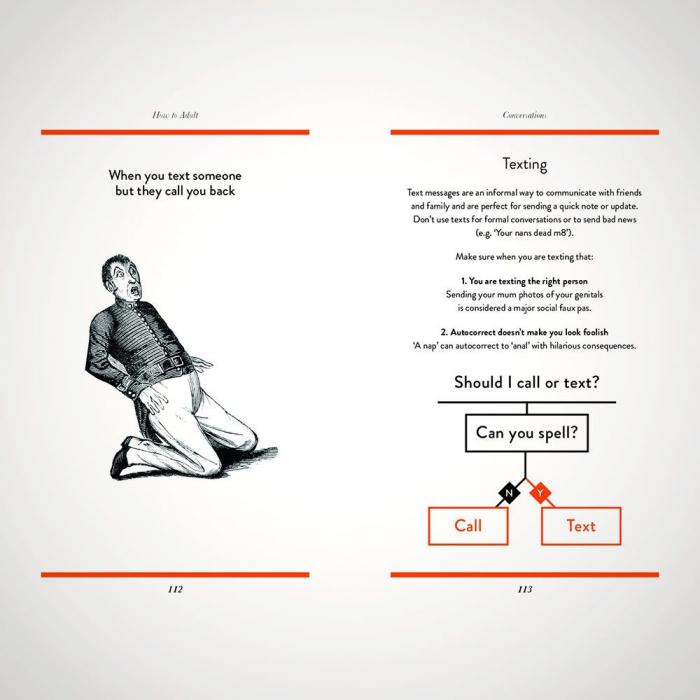 Ghid de viata ilustrat How to adult [9]