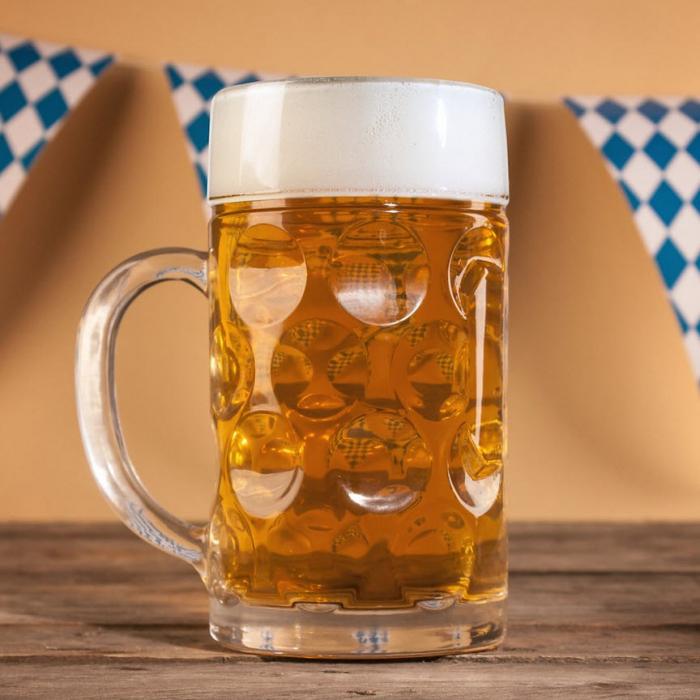 Halba de bere 1 litru, Gigantica [0]