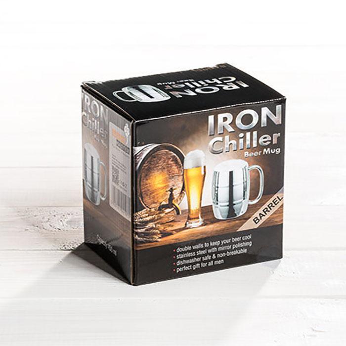 Halba de bere cu racire Iron Chiller, 400 ml 8