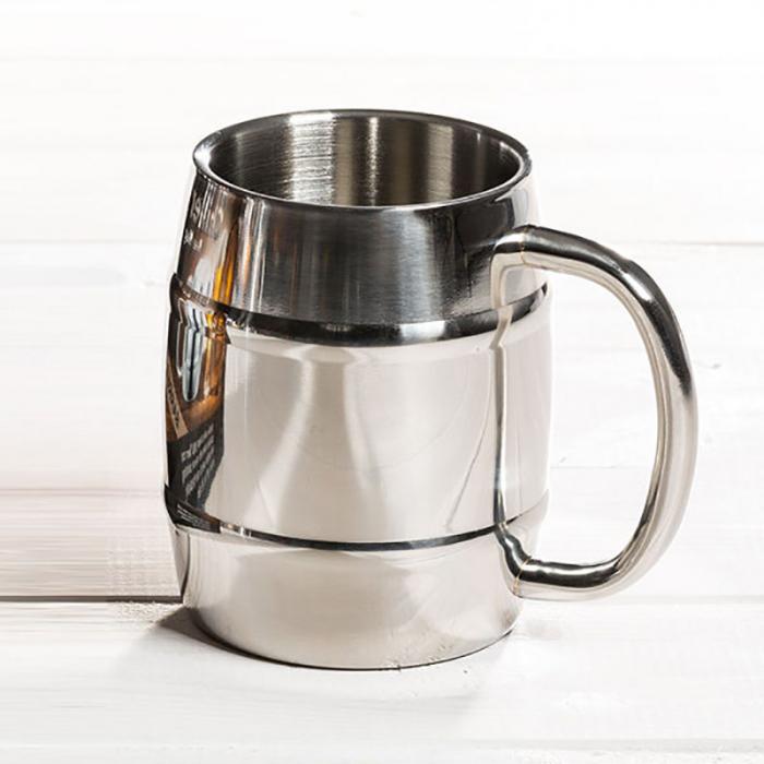 Halba de bere cu racire Iron Chiller, 400 ml 2
